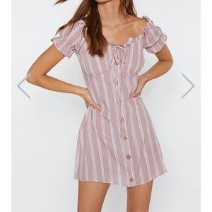 🔥Nasty Gal NWT!🔥 Striped Mini Dress